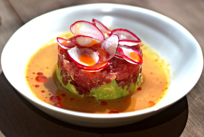 Tuna Tartare, Avocado, Spicy Radish, Ginger Marinade - $23