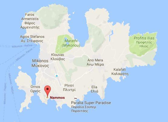 Nammos Mykonos Googlemaps