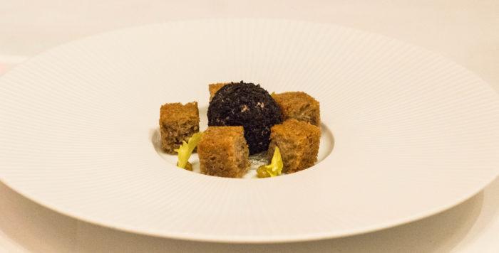 Gabriel Kreuther Foie Gras Terrine & Black Truffle Praline