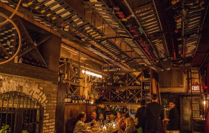Il Buco Wine cellar
