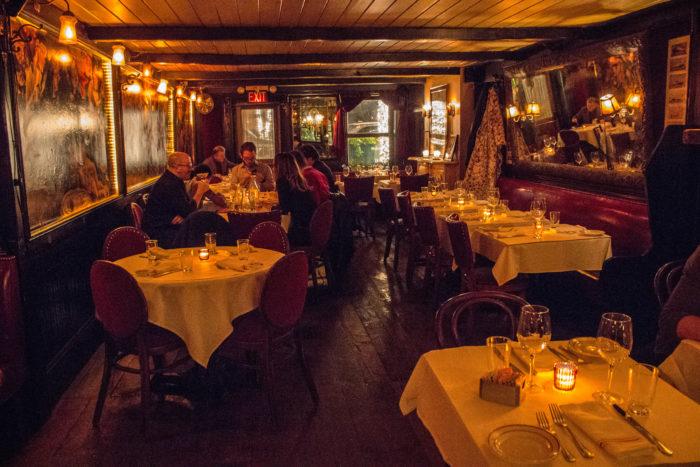 Waverly Inn dining room