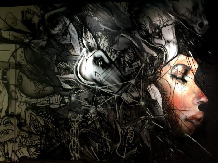 Momofuku ko mural art David Choe