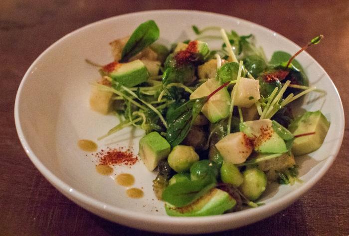 Avant Garden Brussels Sprouts Caesar Salad