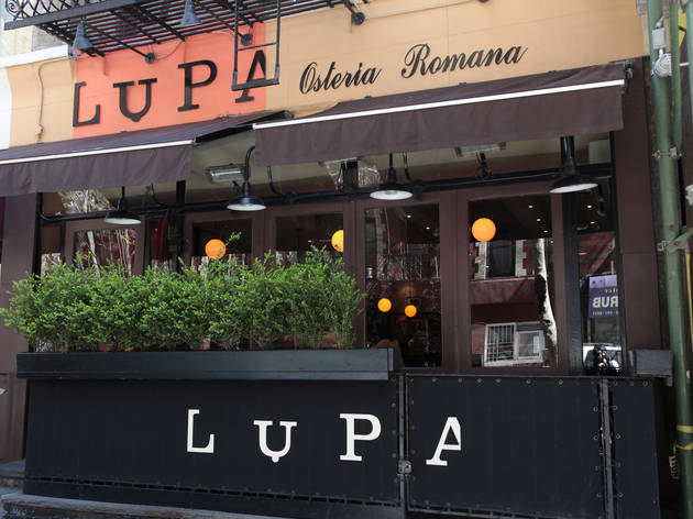 Lupa Restaurant Week Menu Summer
